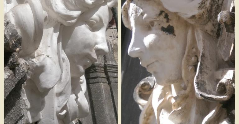 Sablare și curatare monumente istorice